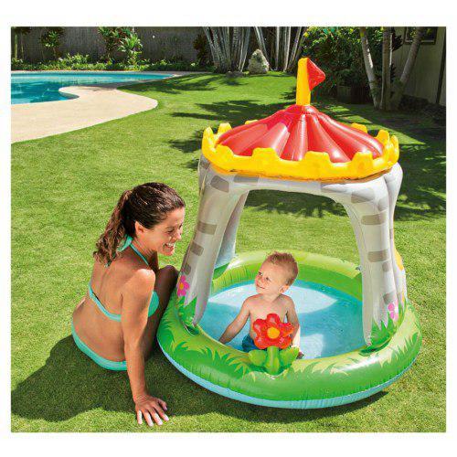 Детский надувной бассейн интекс 57122 Королевский замок (122X122 СМ)