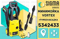 Мойка 1600Вт max 110bar 6 л/мин + турбонасадка Vortex (5342433)
