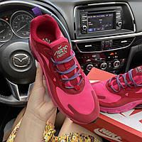 Кроссовки женские Nike Air Max 270 React Coral Pink. Яркие женские кроссовки. ТОП КАЧЕСТВО!!!Реплика