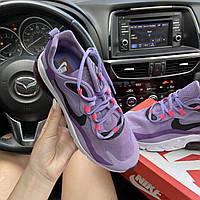 Кроссовки женские Nike Air Max 270 React Violet. Яркие женские кроссовки. ТОП КАЧЕСТВО!!! Реплика