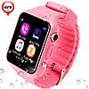 Детские умные смарт часы-телефон с GPS Baby Smart Watch V7 / Часы-телефон, фото 2