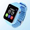 Детские умные смарт часы-телефон с GPS Baby Smart Watch V7 / Часы-телефон, фото 4