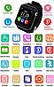 Детские умные смарт часы-телефон с GPS Baby Smart Watch V7 / Часы-телефон, фото 9