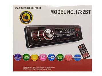 Автомагнітола 1DIN MP3 1782BT (1USB, 2USB-зарядка, TF card, bluetooth)