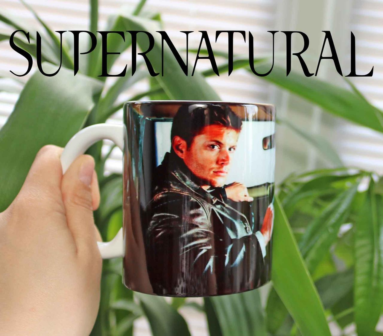 Чашка Сверхъестественное Дин Винчестер рулит  / Supernatural