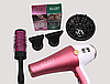 Фен для укладки волос Enzo  EN-6050H с дифузором, фен 7в1,  6000 W, Набор для укладки волос, фото 7