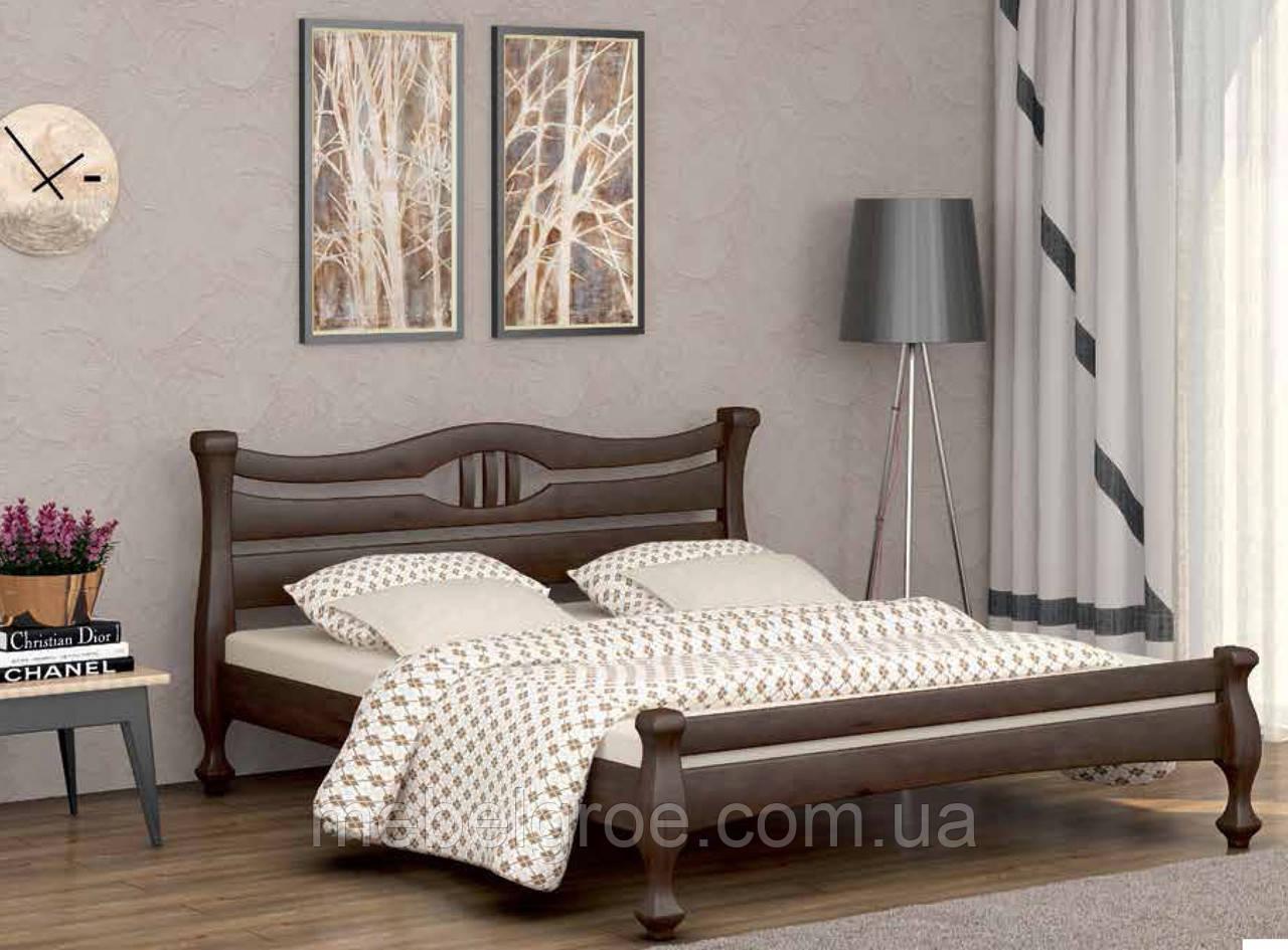 Деревянная двухспальная кровать 120 Кронос тм Мекано