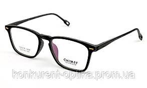 Чоловічі окуляри в роговій оправі чорного кольору Chimay 1694