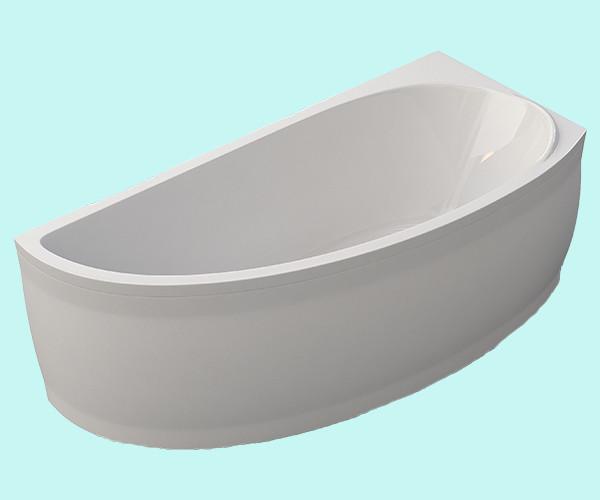 "Ванна с панелью и каркасом ""Palermo"" L/R (150х70) белая"