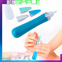 Электрическая пилка для ногтей Scholl Velvet / Маникюрная пилочка для ногтей