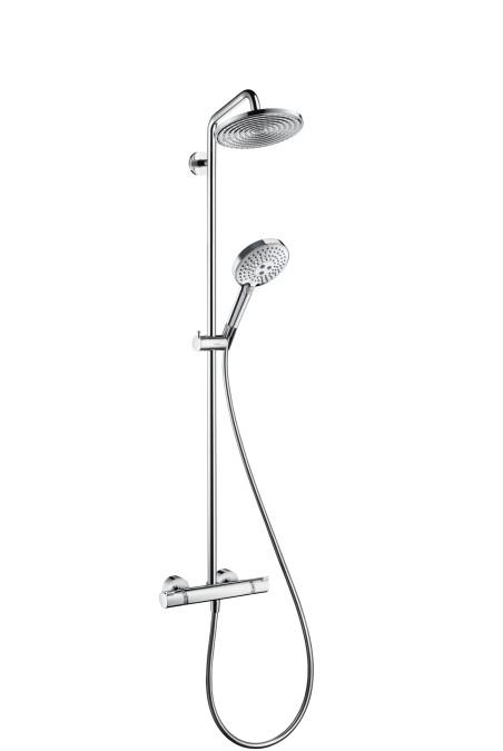 Душевая система для ванны RainDance Select S Showerpipe 240 с термостатом