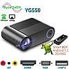 Проектор мультимедійний YG550 Wi-fi Led Progector Портативний домашній кінотеатр міні проектор, фото 8