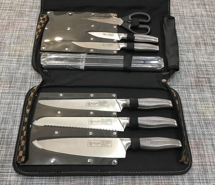 Набір кухонних ножів Muller - 7 предметів / ХЕ-720