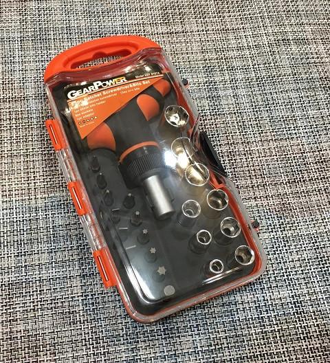 Набір інструментів GearPower 25 предметів / HZF-8187А