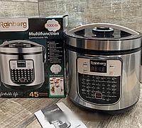 Мультиварка,пароварка, рисоварка, йогуртница Rainberg RB-6209 45 программ 1000 Вт