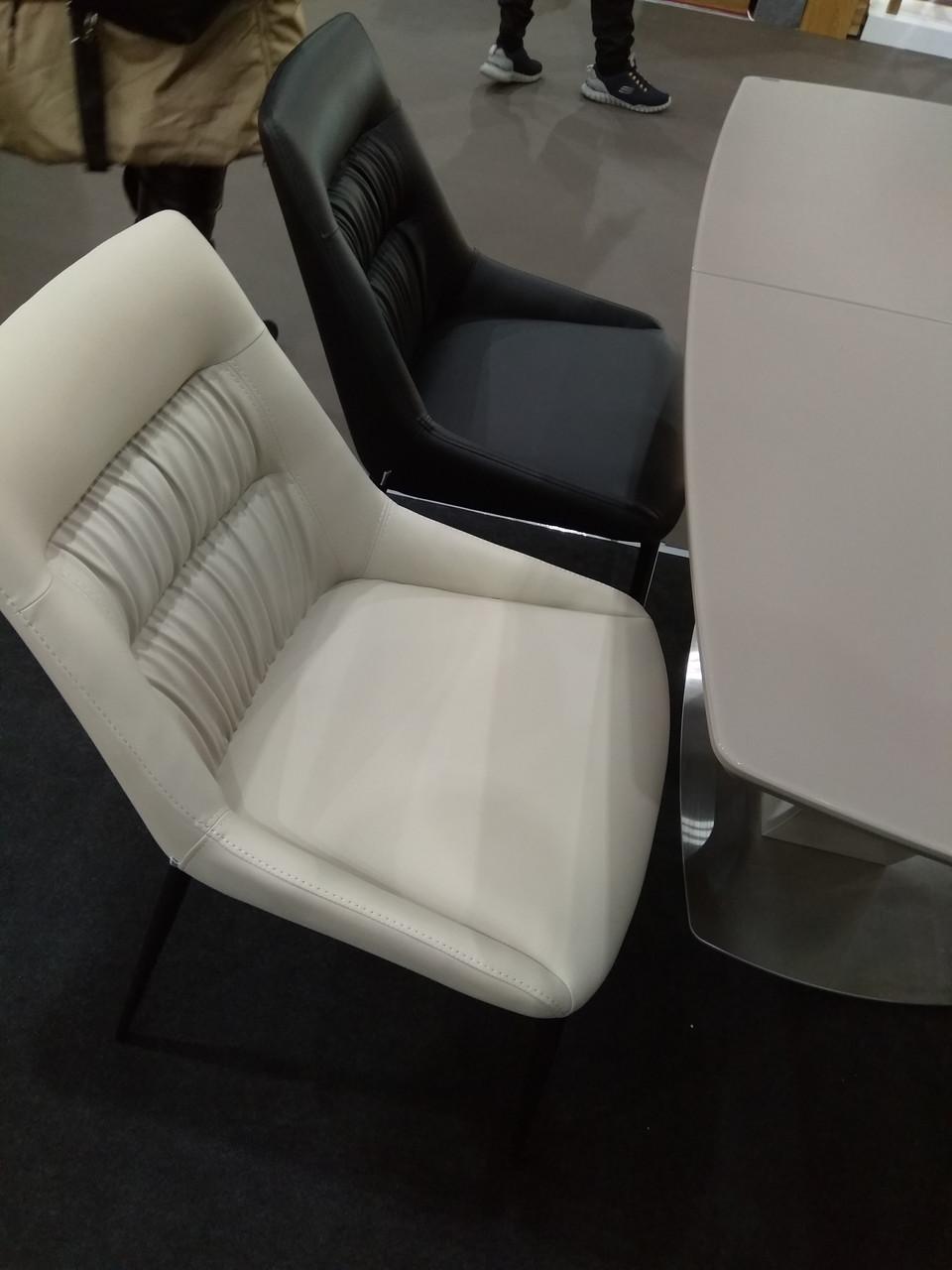 Обеденный стул Savannah (Саванна) молочный экокожа от Concepto