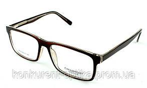 Мужские очки в роговой оправе черного цвета Casamorati 3614