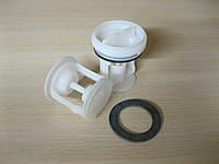 Пробка-фильтр Indesit C00141034 (комплект)  оригинал для стиральной машины