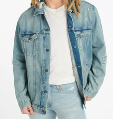 Джинсовая куртка Levis Trucker Jacket -  GET RIPPED