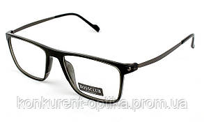 Чоловічі пластикові брендові окуляри в роговій оправі Bossclub 8816
