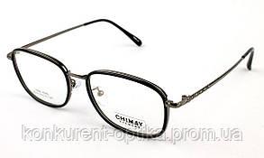 Мужские пластиковые брендовые очки в роговой оправе Chimay 9074