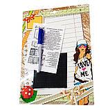 Доска для надписей, картонная сухостираемая, А4 (дизайны для детей), фото 5