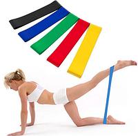Набор лент-эспандеров резинок для фитнеса 5 шт фитнесс ленты резинки для фитнесса
