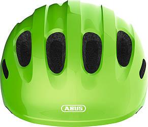 Велосипедный детский шлем ABUS SMILEY 2.0 S 45-50 Sparkling Green, фото 2