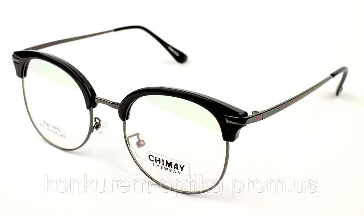 Мужские очки в металлической оправе Chimay 9111