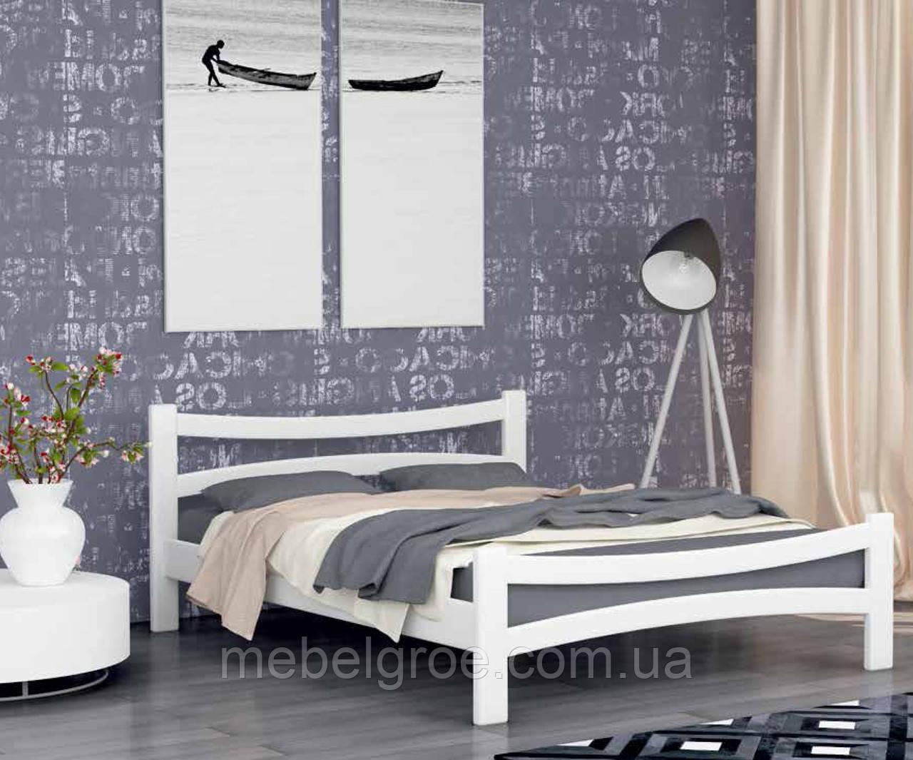 Деревянная двухспальная кровать 160 Деметра тм Мекано