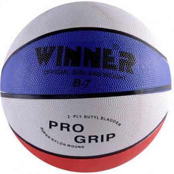 Мяч баскетбольный Winner Tricolor