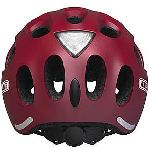 Велосипедный детский шлем ABUS YOUN-I S 48-54 Cherry Red Matt, фото 2