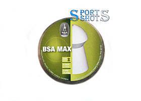 Пули BSA Max 4.5мм, 0.68г, 400шт/пчк