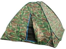 Летняя палатка с дном комуфляж |АВТОМАТ| 2Х2