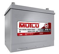 Акумулятор MUTLU SFB S3 6CT-80Ah/720A L+ Asia (Азія) Борт D26.80.066.D Автомобільний (МУТЛУ) АКБ Туреччина ПДВ