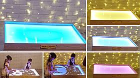 Світлова пісочниця 100х60см Art&Play® ясен
