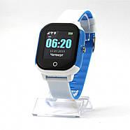 Оригинальные умные детские часы JETIX DF50 Ellipse OLED с Wi-FI и Защитой от воды IP67   (Blue), фото 3