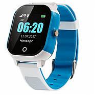Оригинальные умные детские часы JETIX DF50 Ellipse OLED с Wi-FI и Защитой от воды IP67   (Blue), фото 2