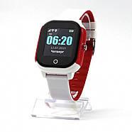 Оригинальные умные детские часы JETIX DF50 Ellipse OLED с Wi-FI и Защитой от воды IP67 (Red), фото 3