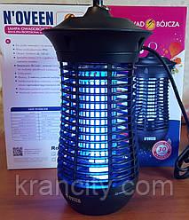 Инсектицидная лампа от комаров,мух и летающих насекомых Noveen IKN18 IPX4 профессиональная, до 100 кв. м.