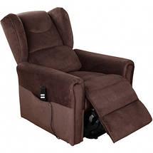 Підйомне крісло з двома моторами (коричневе) OSD-BERGERE AD05-1LD, фото 3