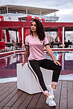 Женский летний спортивный костюмс футболкой 48-54р.(6расцв.), фото 4