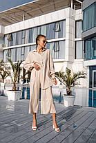 Летний люксовый костюм из льна, фото 3