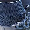 Темно-сині шкарпетки дитячі кросівки на шнурках літні сітка текстиль nike air presto дитячі літні кросівки, фото 2