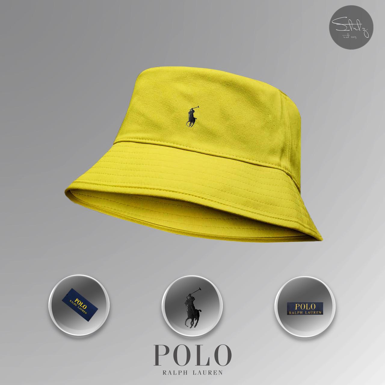 Жовта панама Ralph Lauren (yellow)