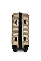 Пластиковый чемодан маленький шампань ручная кладь S+ Fly 2702, фото 3