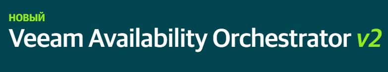 Veeam Availability Orchestrator - Подписка на 1 год и поддержка 24/7