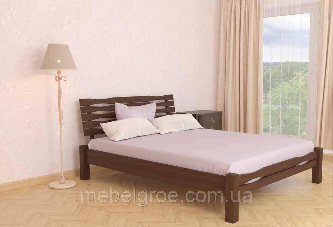 Деревянная двухспальная кровать 140 Веста тм Мекано
