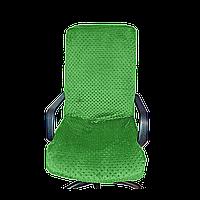 Чехол на офисное кресло Солодкий Сон Зеленый