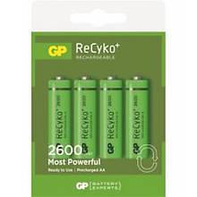 Аккумулятор GP Reсyko Most Powerful 1300 Mah Aa Ni-Mh 4Pcs/box (213965)